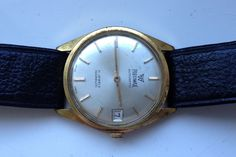 AUCTIONS ENDING ON WEDNESDAY 14 SEPTEMBER FROM 8pm NEW AUCTIONS STARTING FROM 8pm........MENS VINTAGE PRECIMAX AUTOMATIC GOLD PLATED 21J SWISS WORKING CALENDAR WATCH
