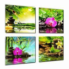 Canvas Prints Zen Art Wall Decor - Spa Massage Treatment Painting Picture Print