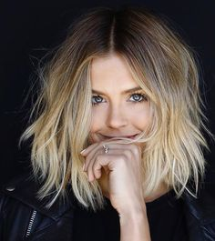 New hair long bob ombre balayage cut and color Ideas Long Bob Haircuts, Long Bob Hairstyles, Pretty Hairstyles, Hairstyle Ideas, Bob Haircut Long, Wedding Hairstyles, Amazing Hairstyles, Layered Haircuts, Celebrity Hairstyles