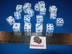 News NEW 18 WHITE DICE w/ BLUE PIPS 16MM D6 FREE SHIPPING BUNCO CRAPS YAHTZEE    NEW 18 WHITE DICE w/ BLUE PIPS 16MM D6 FREE SHIPPING BUNCO CRAPS YAHTZEE   Price : 10.79  Ends on : 2016-03-30 19:15:38  View on eBay   ... http://showbizlikes.com/new-18-white-dice-w-blue-pips-16mm-d6-free-shipping-bunco-craps-yahtzee/
