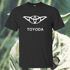 Toyoda Yoda Star Wars Funny T Shirt Movies Film by sweatshopinc, $12.99