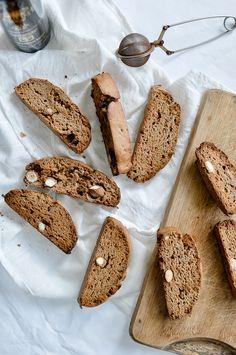 easy chestnut flour biscotti by foodrecipeshq #biscotti #chestnut