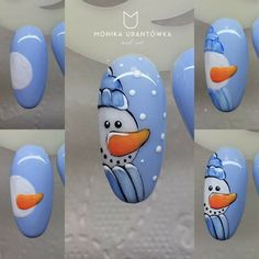 90 Christmas Nail Art Designs Which Are perfect for the Holiday Season Hike n Dip Nail Art Noel, Xmas Nail Art, Christmas Nail Art Designs, Holiday Nail Art, Xmas Nails, Winter Nail Designs, Winter Nail Art, Simple Nail Designs, Winter Nails