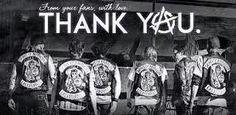 Thank you to all the cast, crew and Kurt Sutter for the BEST SHOW EVER!! ReaperCrewForLife!