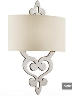 """Olivia Polished Nickel 18"""" High Wall Sconce  Price: $380.91 