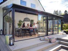 Garden Awning, Backyard Greenhouse, Home Design Decor, Cottage Design, Garden Veranda Ideas, Outdoor Rooms, Outdoor Living, Conservatory Design, House Extension Design