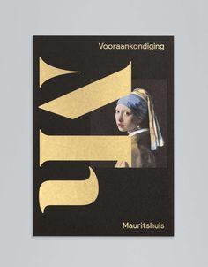 Studio Dumbar: Mauritshuis Visual Identity