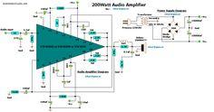 200w-audio-amplifier