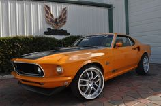 "1969 MUSTANG CUSTOM BUILT OVER A 2005 MUSTANG SALEEN S281 ""YES WE PUT TWO CARS IN ONE"""