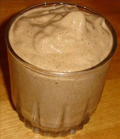 1/2 packet Starbucks single serve instant coffee, 2 scoops of Visalus shake mix, 5 ice cubes and almond milk. Blend until frosty, it's delicious!