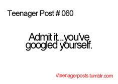 Teenager Post #060
