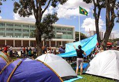 BLOG DO MARKINHOS: Professores passam Carnaval acampados no Palácio I...