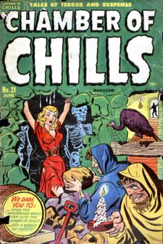 Comic Book Cover For Chamber of Chills Magazine v1 21 [1]