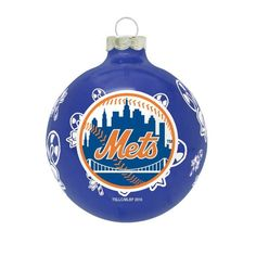 "MLB New York Mets Traditional 2 5/8"" Ornament:Amazon:Sports & Outdoors"