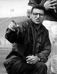 Paterno dies of lung cancer. From glory to shame in his last few months.