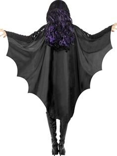Bat Wings Costume | Vampire Bat Wings - 23133 - Fancy Dress Ball