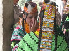 Kalash sisters, during Ochao festival by I Schah