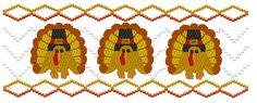 Turkeys - Machine Smocking by Elizabeth's Embroideries www.elizabethsembroideries.com