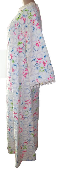 1960 Rare Vintage Lace over Long Formal LILLY PULITZER by SanMonet, $250.00