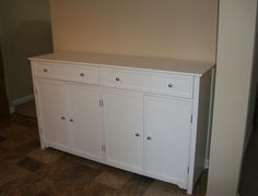 Home Decorators Collection Artisan White Buffet White buffet