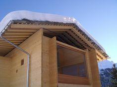 Alpine home. Leis, Switzerland. Peter Zumthor