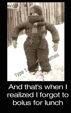 Looks like the Bob Gregory kid from tv on how to dress our kids for the weather,  not knowing what it would do in the next 15 minutes,  spring to a blizzard just wait a few and see how to dress your kids for school. ..Lol. ..