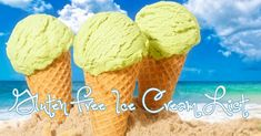 Blog - List of gluten free ice cream usually available from ice cream vans during summer