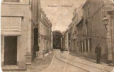 Slotstraat met tramspoor Tiel Buren Culemborg lijn.