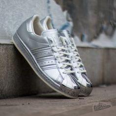 adidas Superstar 80s Metallic Pack Silver Metallic/ Off White