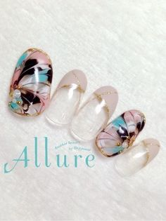 198 best japanese nail art images in 2016 Bling Nails, Fun Nails, Pretty Nails, Pretty Nail Designs, Nail Art Designs, Nail Art Images, Japanese Nail Art, Manicure Y Pedicure, Fabulous Nails