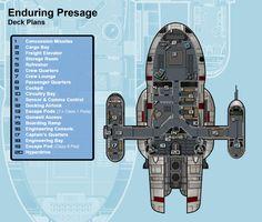 Enduring Presage Deck Plan by JediDave-142