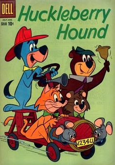 toon008 - Huck, Yogi, Boo-Boo, Mr. Jinks, Pixie & Dixie / The Huckleberry Hound Show / Comic Book / Hanna Barbera (1958)