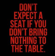 Don't Expect.