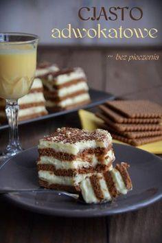 Polish Desserts, Polish Recipes, Polish Food, Sweets Cake, Cake Cookies, No Bake Cake, Sweet Tooth, Cake Decorating, Bakery