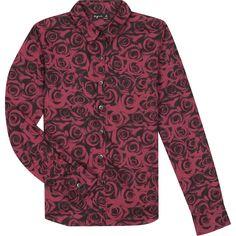 winter 2016-17 - chemise mina rouge