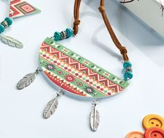 Aztec artefacts - Embrace the Aztec trend with Helen Cant's bold shrink plastic set