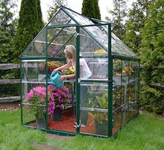 Greenhouse Gazebo Plan for Garden