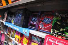 Books at the Scholastic Book Fair are displayed face-front and grouped by age or grade-level, so it's easy for kids to find characters and subjects they love and want to read about.