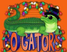 Photobucket - Photo and image hosting, free photo galleries, photo editing. Fla Gators, Florida Gators Football, Holiday Greeting Cards, Christmas Cards, Xmas, Gator Party, Animated Gif, Louisiana, Crocs