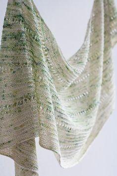 Aurula Shawl Knitting pattern by Jana Huck