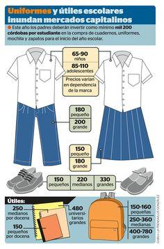 Uniforme escolar - Nicaragua
