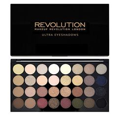 Makeup Revolution Shimmers and Matte Nudes Ultra 32 Eyeshadows Flawless Palette Makeup Revolution http://www.amazon.co.uk/dp/B00U84TQ2Q/ref=cm_sw_r_pi_dp_G9EYwb0CSVQAM