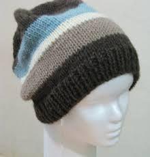 Resultado de imagen para gorros de lana para hombres a crochet
