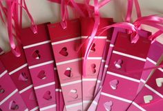 Cute bookmarks for V-Day - and how easy :)