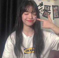 ☆ feel free to remove my added caption ☆ Pretty Korean Girls, Cute Korean Girl, Korean People, Ulzzang Korean Girl, Uzzlang Girl, Foto Instagram, Korean Fashion Trends, Japan Girl, Attractive People