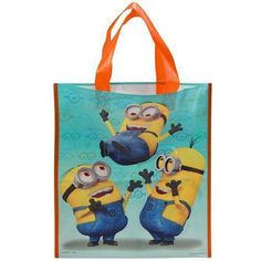 "Despicable Me Treat Bag Party Favor 13"" x 11"" Halloween Candy Plastic New Tote #Hedstrom"
