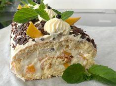 Heidelbeeren-Topfen-Zitrone (Ober- Unterhitze) Mango, Tiramisu, Pudding, Ethnic Recipes, Desserts, Food, Bakken, Yogurt, Lemon