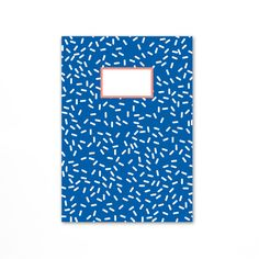 Blue Notebook by Oelwein £8.00 #stationery #pattern