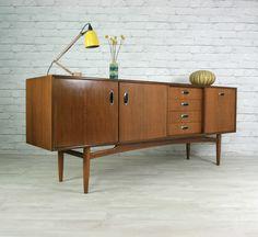 G PLAN RETRO VINTAGE TEAK MID CENTURY DANISH STYLE SIDEBOARD EAMES ERA 50s 60s | eBay