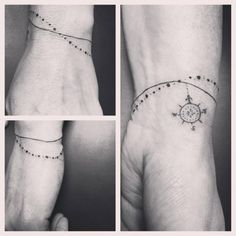 HOT! Tatuaż bransoletka - delikatne wzory, które was zachwycą